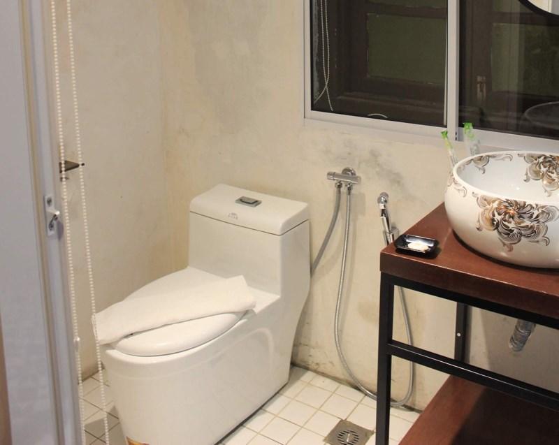 photo toilet hose