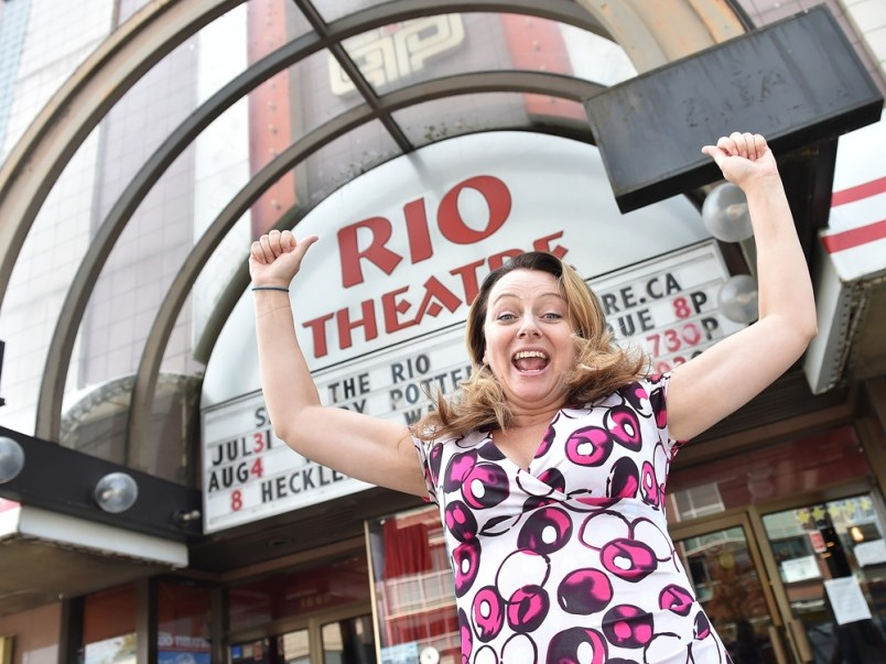 Readers voted the Rio Theatre best independent theatre. File photo Dan Toulgoet