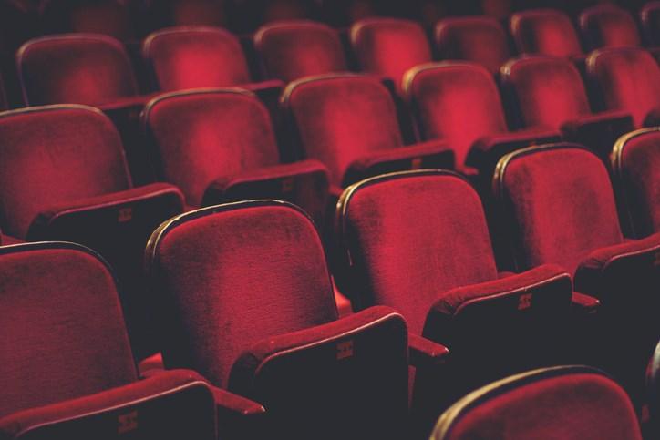 theatre, empty theatre, stock photo