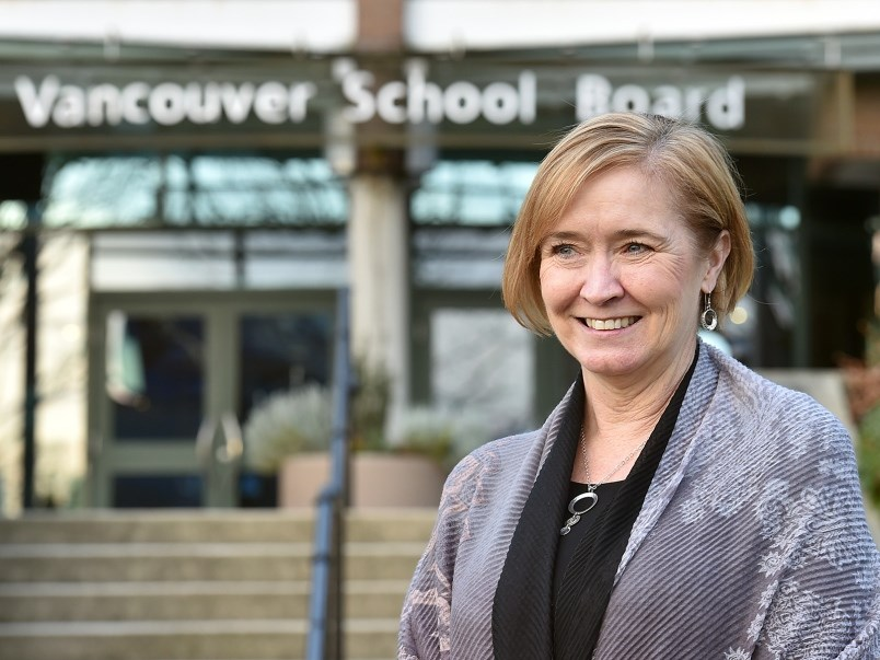"""I know everyone is pulling together on behalf of our students,"" the Vancouver School Board superint"