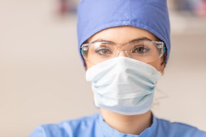 Health-care worker, COVID-19
