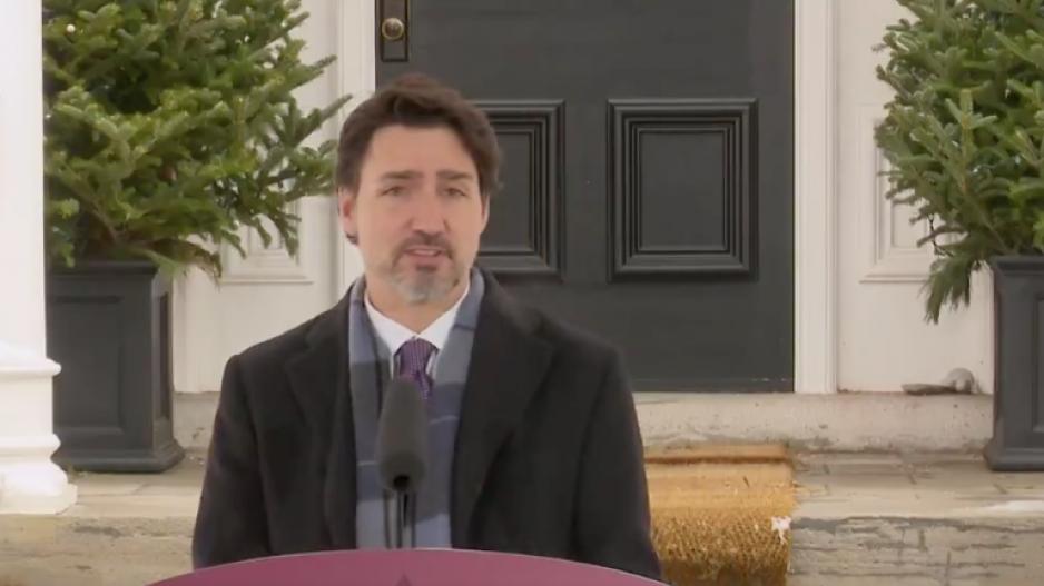 prime minister justin trudeau credit gov livestream