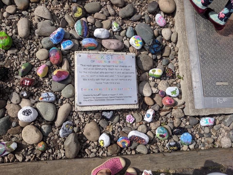 Queensborough, rock art garden