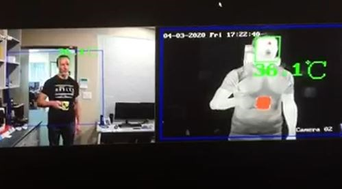 thermal image covid-19