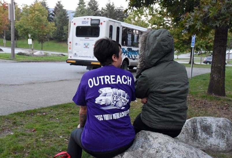 The ACCESS Youth outreach bus