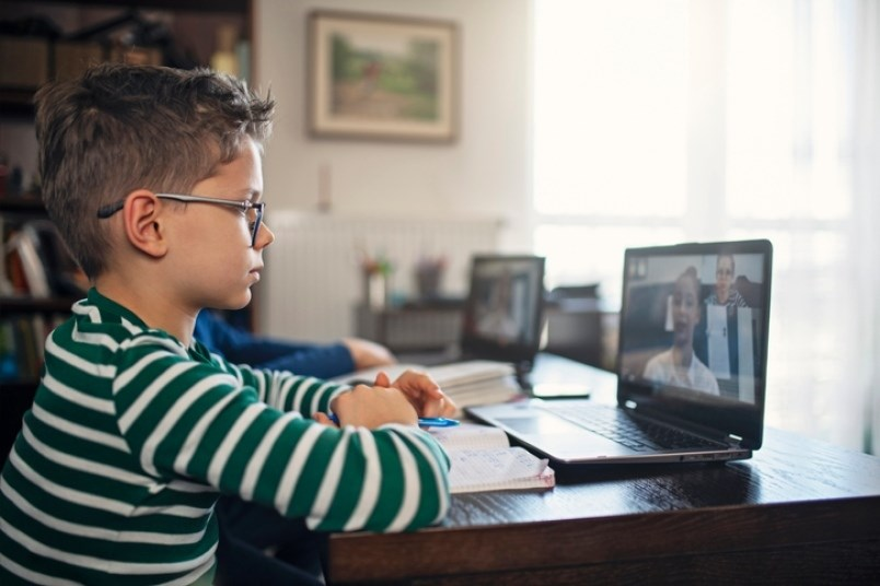 B.C. students learning virtually