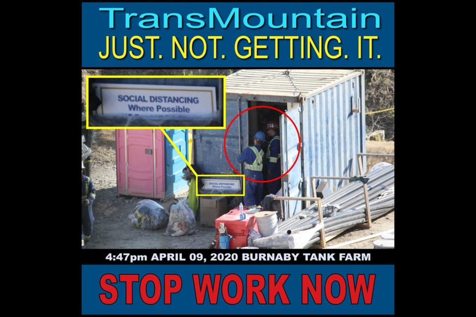 A Trans Mountain meme. Contributed