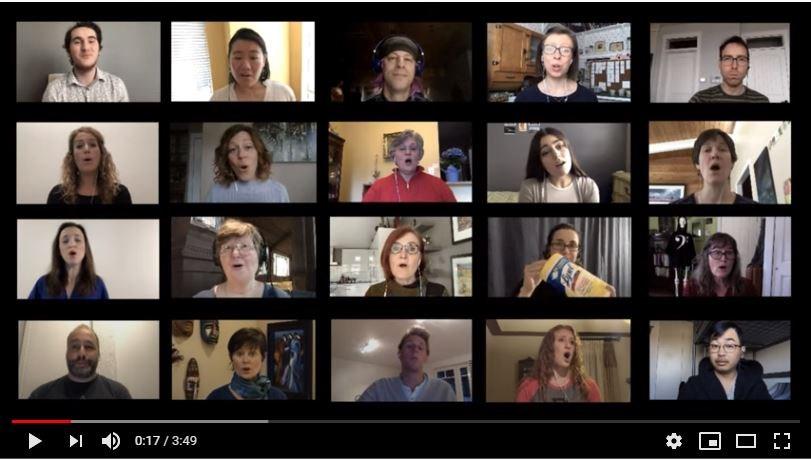 Phoenix Chamber Choir, virtual singing, pandemic