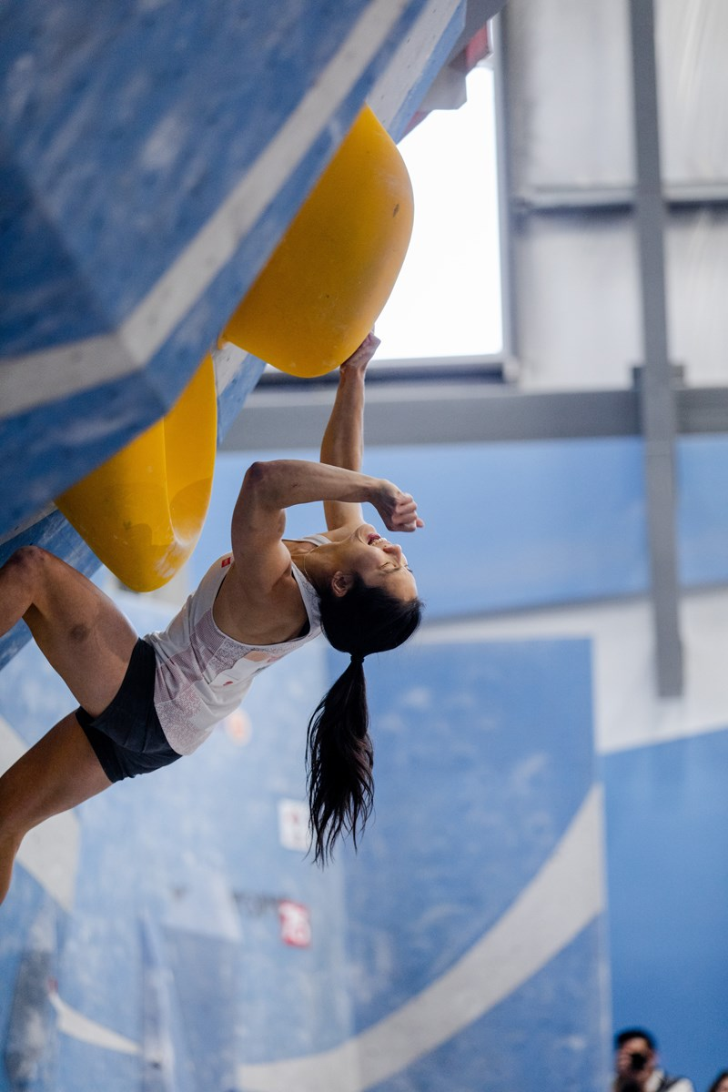 North Vanouver's Alannah Yip climbing for Olympic glory_1