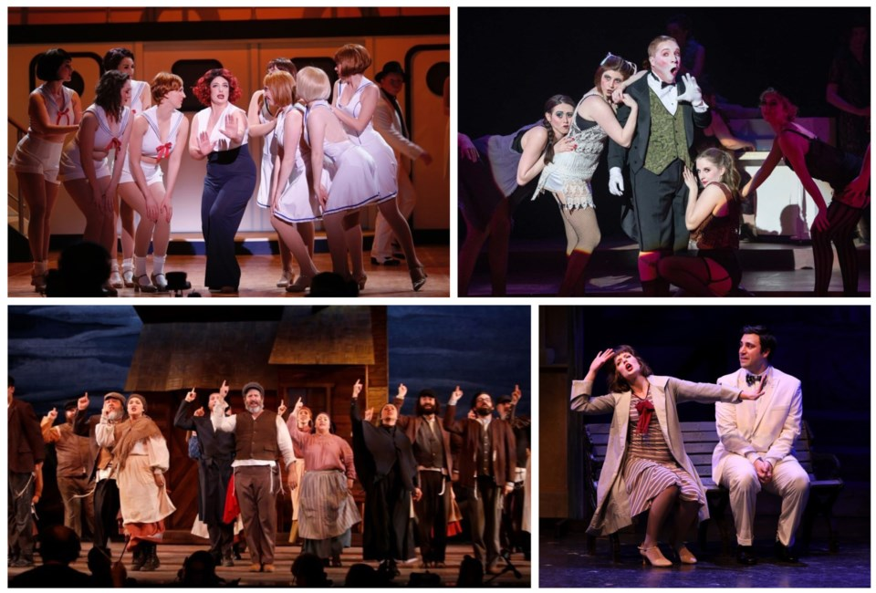 Royal City Musical Theatre, past productions