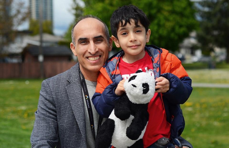 refugee doctor, Zarif Akbarian