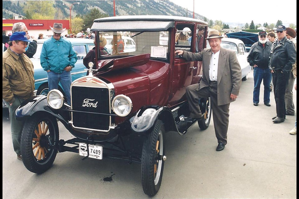 Doug McCloy and his 1926 Model T Ford.