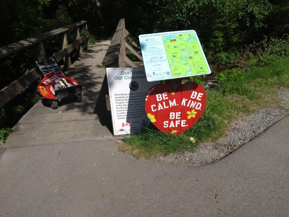 Squamish Rotarians put their hearts onto local trails_2