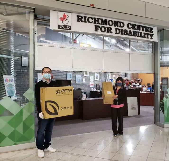 Kudos: Richmond Centre for Disability receives compostable sugarcane-based straws_0
