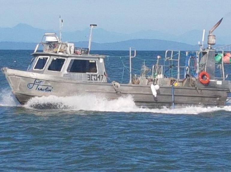 justin taylor steveston fisher boat
