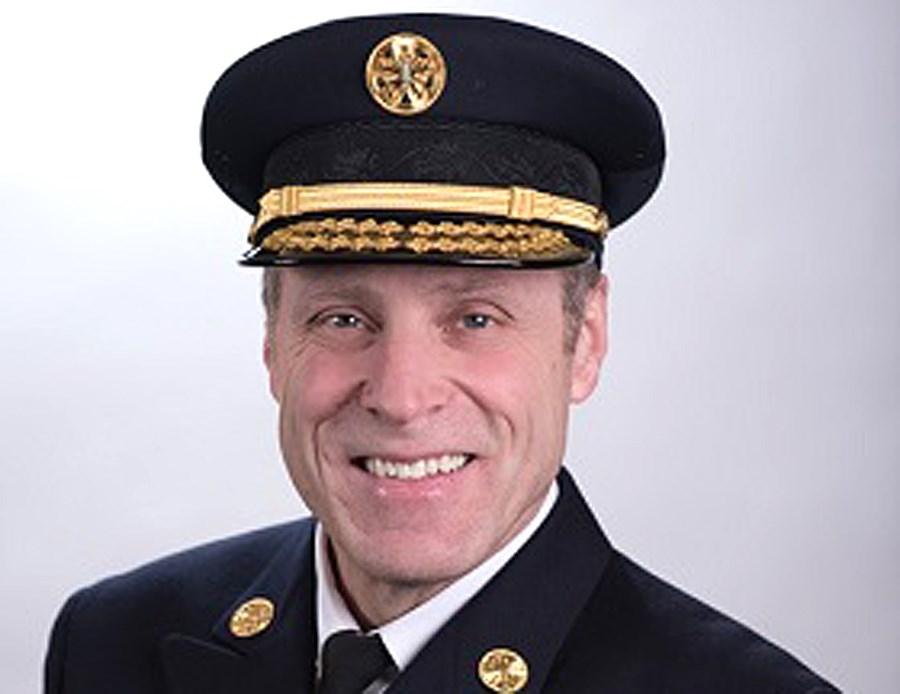 Fire Chief Joe Robertson