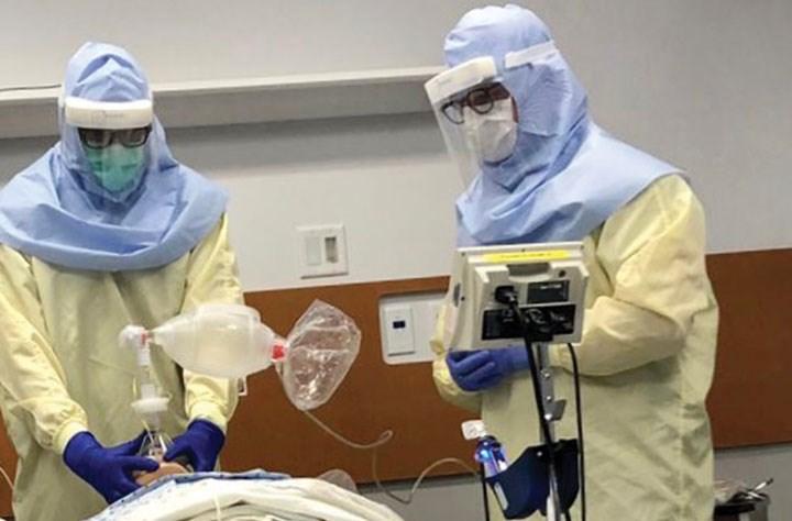 intubation UHNBC hospital