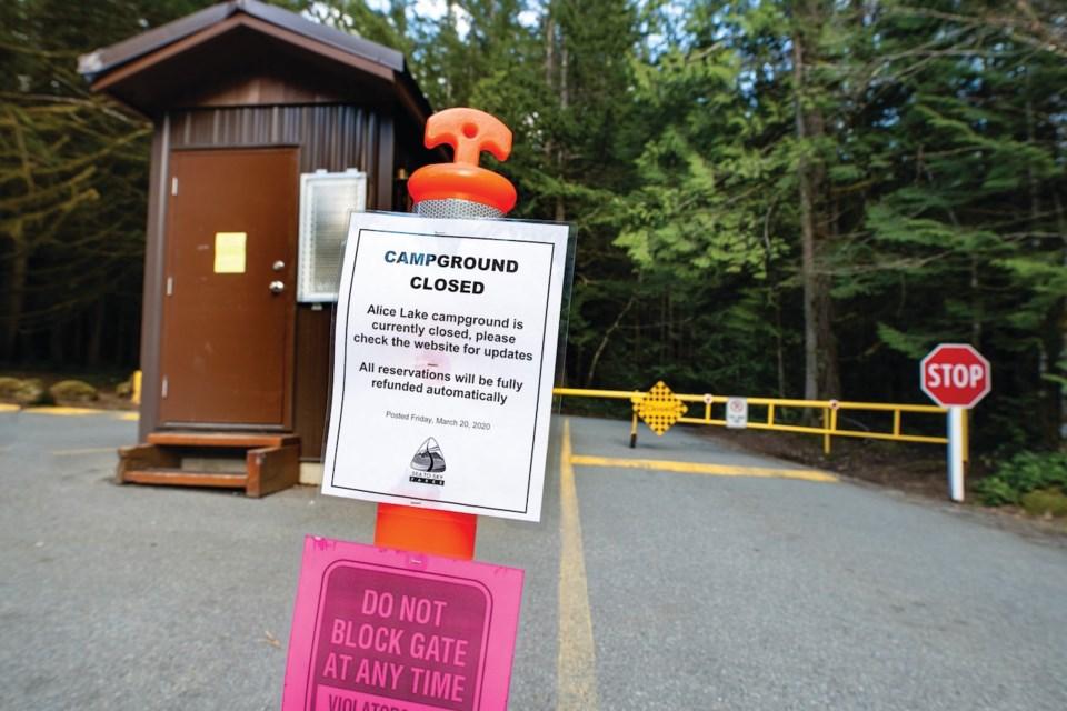 park closures