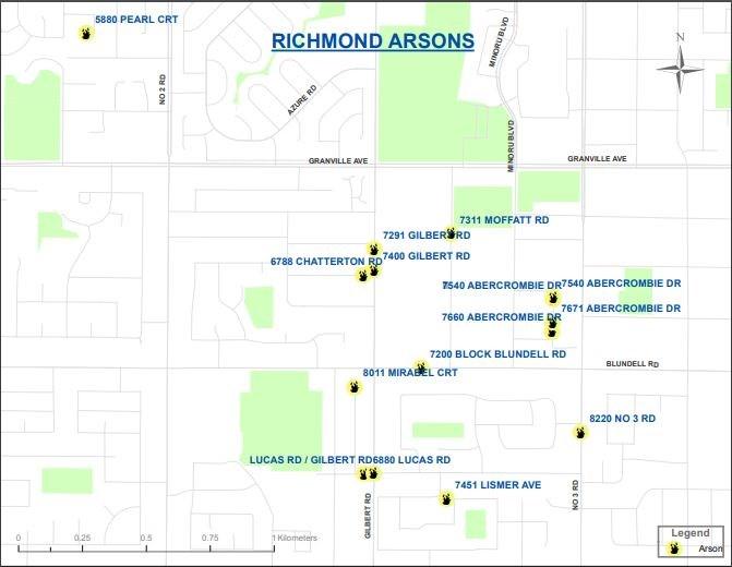 Arson map