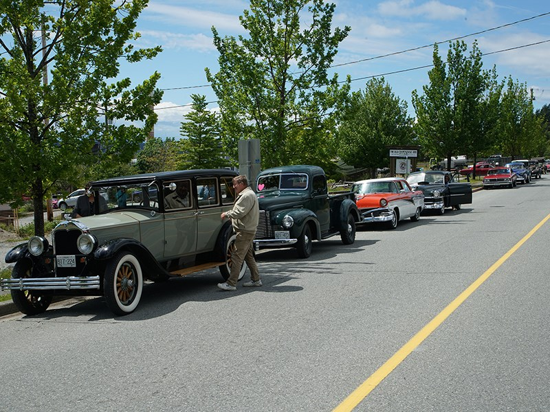 Vintage cars Powell River