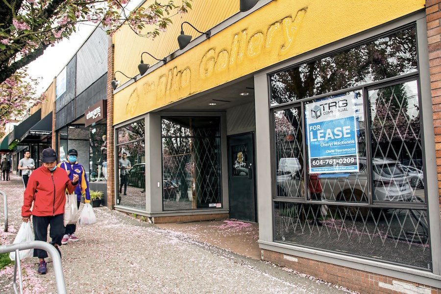 West Point Grey store closed