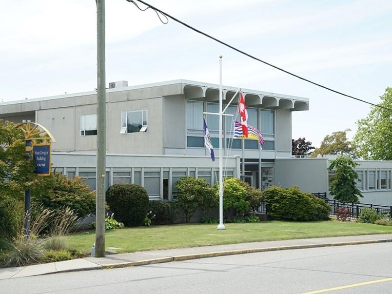 Powell River city hall