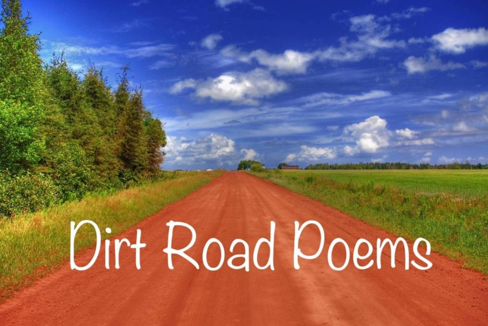 The poem was shared on the siblings' Dirt Road Poems Facebook page, a nod to their childhood on PEI.