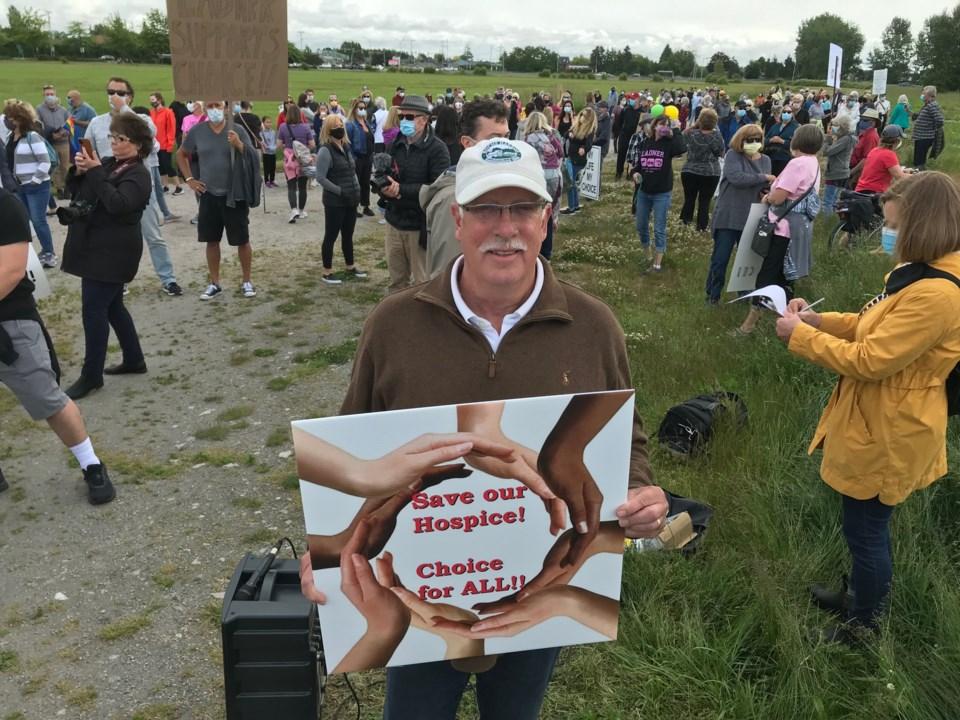 delta hospice community rally