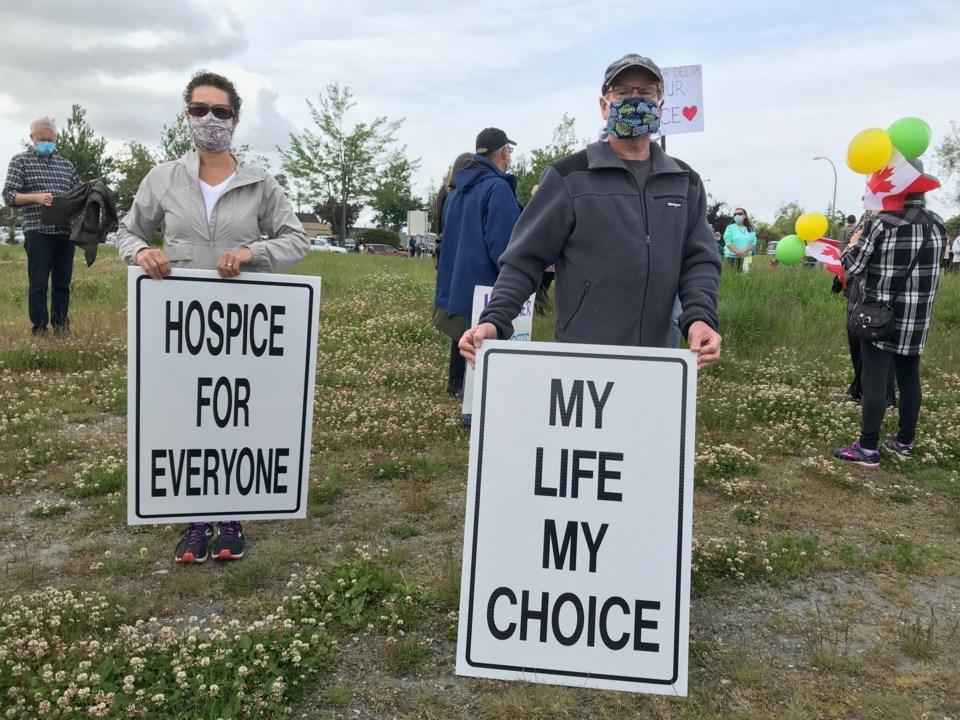 delta hospice rally