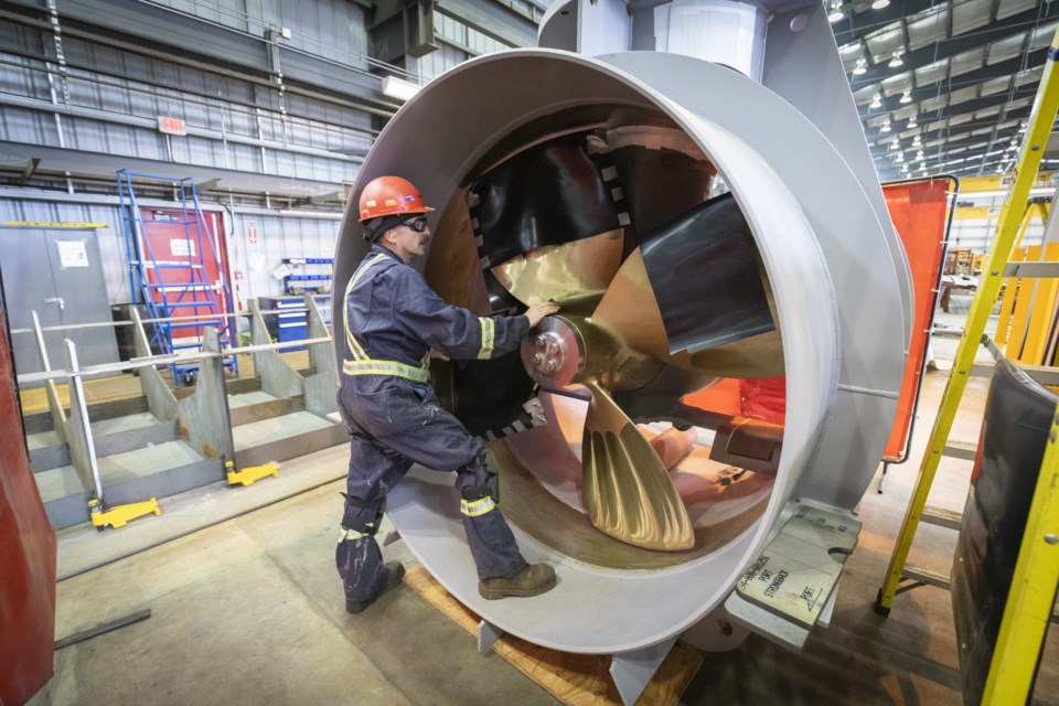 JSS bow thruster