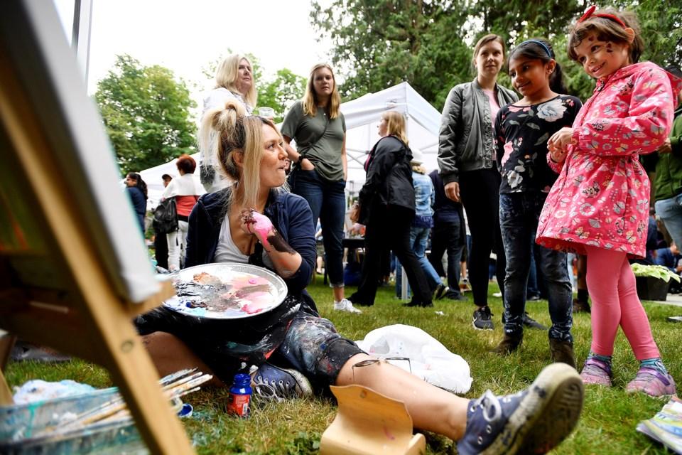 Deer Lake Gallery, summer arts festival, file photo, Burnaby arts