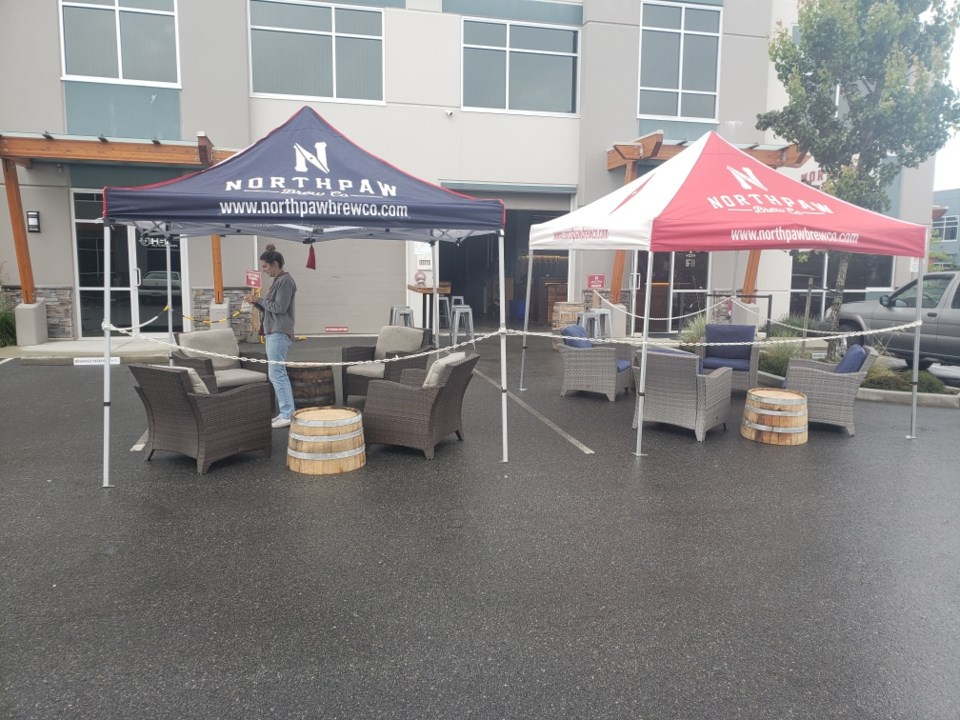 Northpaw Brew Co. in Port Coquitlam is opening an outdoor patio
