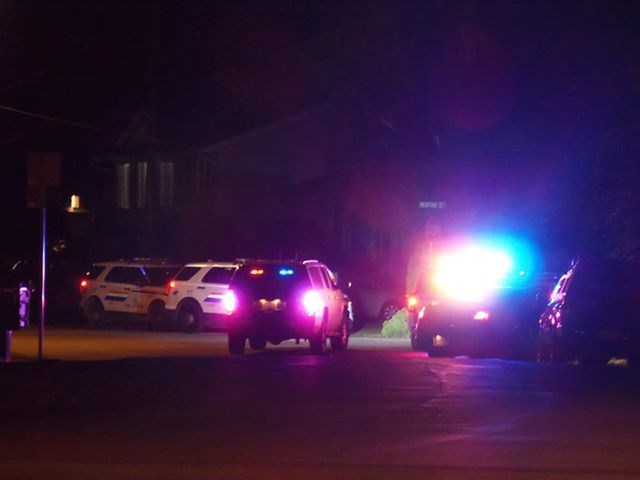 police standoff Brokcklehurst