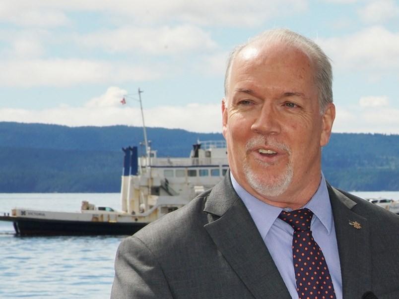 BC premier John Horgan