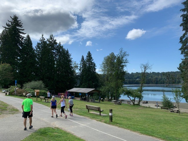 As Canadians get out to enjoy nature during the COVID-19 pandemic many are visiting local trails, such as Shoreline Park in Port Moody, part of the cross-Canada national trail called The Great Trail of Canada.