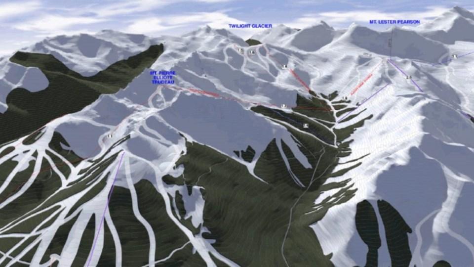 Valemount Glacier ski resort site