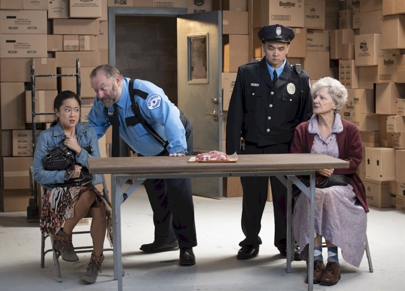 The Shoplifters was a popular play in January