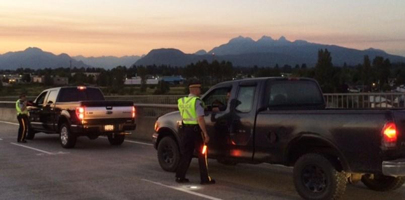 RCMP conduct road checks