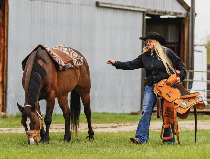 """""""Barrel racing is great and I love to do it, but you are only as good as your horse. I've always leaned more towards roping events, which take a lot of practice and hard work to compete at a high level."""""""