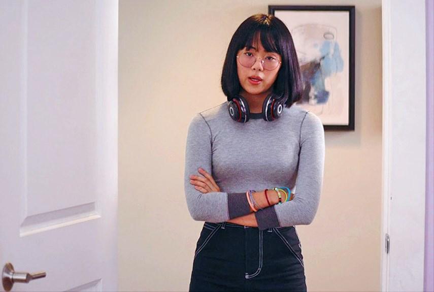Aya Furukawa as Mean-Janine The Baby Sitter Club Netflix 1WEB.jpg