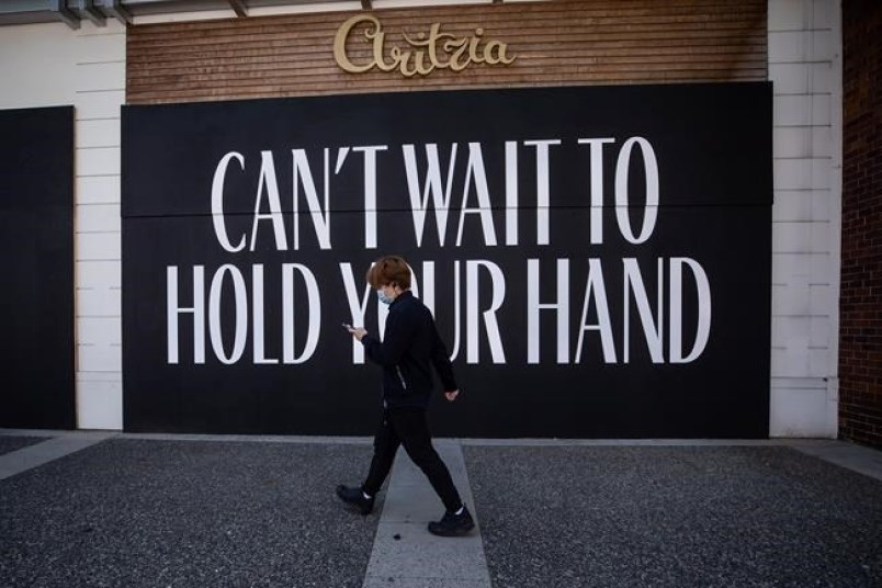 Aritzia is one of Coquitlam Centre's flagship stores