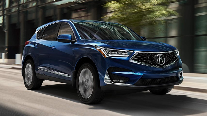 The Acura RDX was redesigned from the ground up in 2019, resulting in one of the most beautiful designs in the SUV market. photo Acura