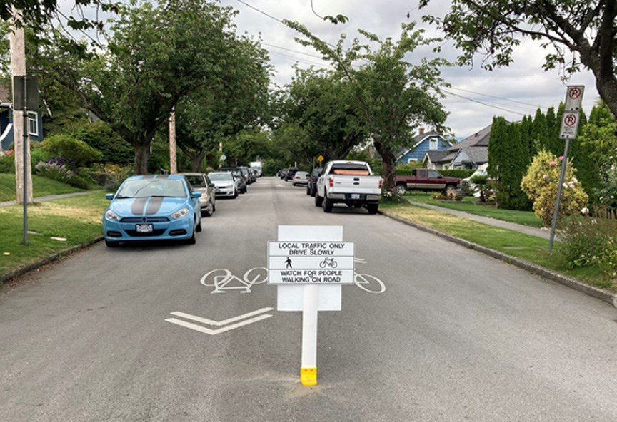fader street new westminster traffic calming