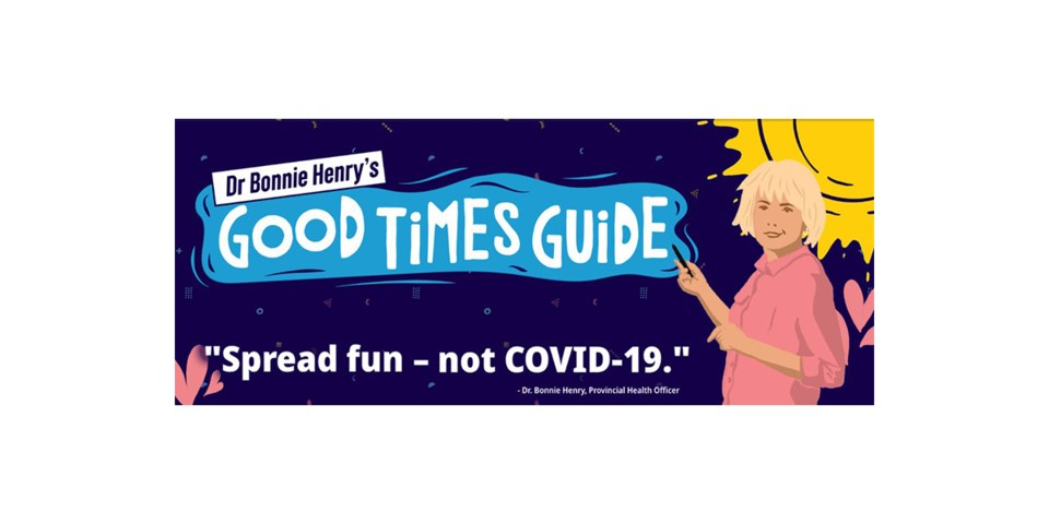 Dr. Bonnie Henry's Good Times Guide