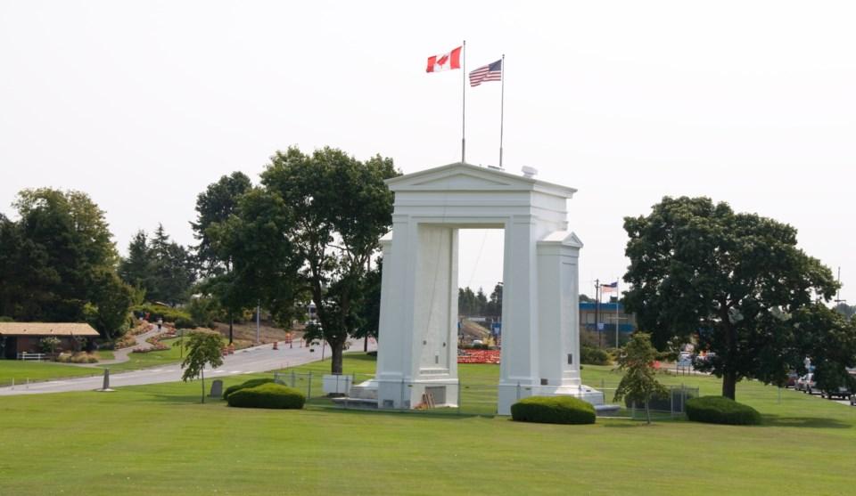 Peace Arch Border