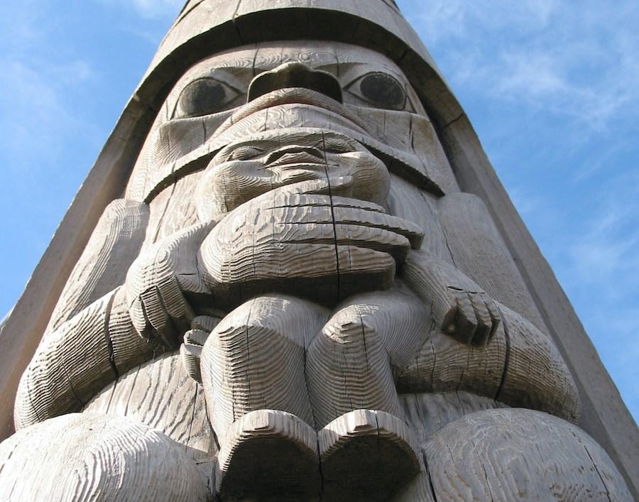 Totem in Victoria B.C.