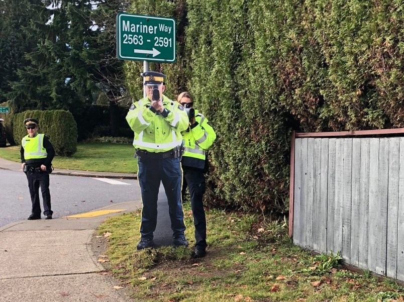 A new study shows cop cut outs are more effective in deterring speeders when a real RCMP constable might be in the vicinity to issue a speeding tickets.