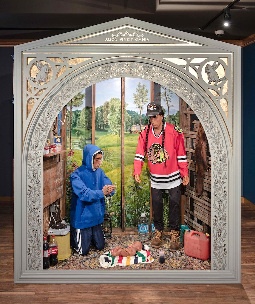 Kent Monkman Nativity Scene