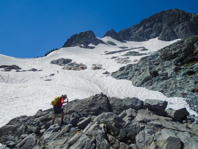 Steve Chapman hikes in Golden Ears Park. As an experienced mountaineer, he worries about those with
