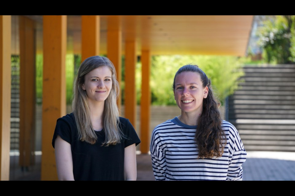 Marie-Pier Alary and Bailee van Rikxoort, product design students in Kwantlen Polytechnic University's (KPU) Wilson School of Design, are one of three teams to reach the second phase of Project Arrow, a competition to design the first all-Canadian zero emissions concept car.